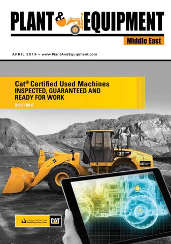 Plant & Equipment | Middle East | April 2019 Edition by