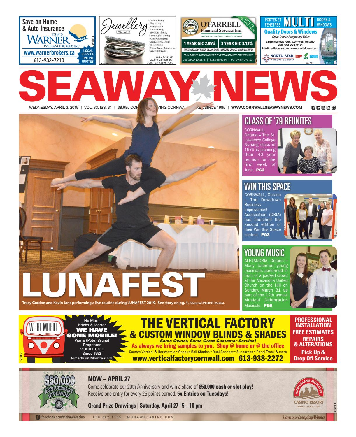 the best attitude 3a03c 2a02b Cornwall Seaway News April 3, 2019 Edition by Cornwall Seaway News - issuu