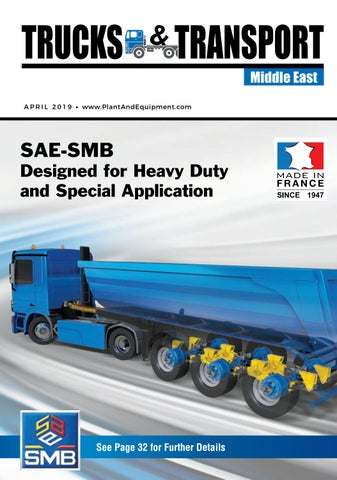 Trucks & Transport | Middle East | April 2019 Edition by Plant And on