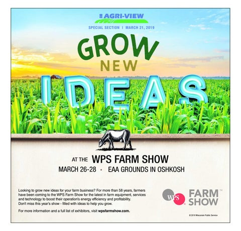 Eating Our Way Through Wisconsin Film 7228 >> Wps Farm Show By Madison Com Issuu