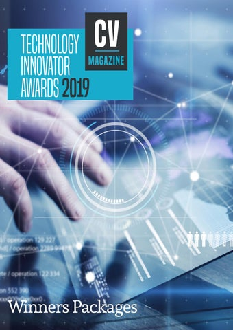 2019 Technology Innovator Awards Packages by AI Global Media - issuu