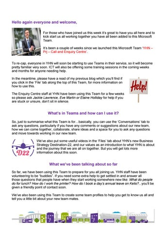 Rob's blog no 2 - Exciting times ahead by Your Homes
