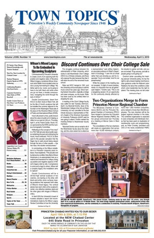 a08ec8fc8 Town Topics Newspaper, April 3 by Witherspoon Media Group - issuu