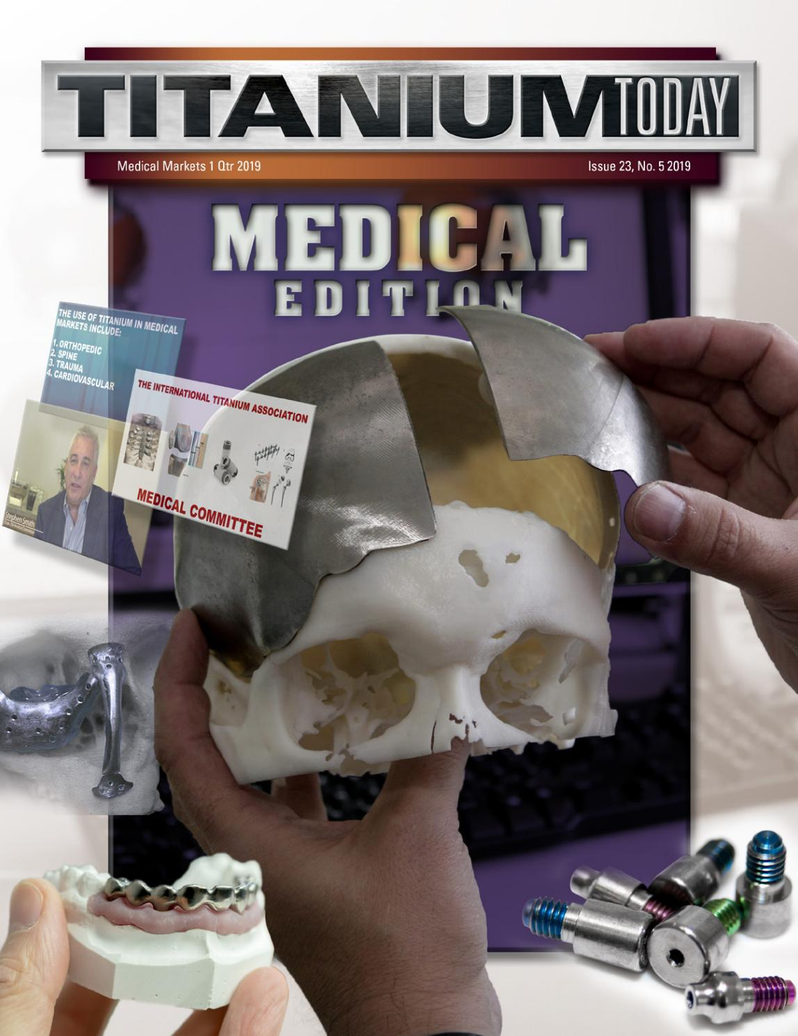 TITANIUM TODAY - Medical Edition 2019 by TITANIUMTODAY - issuu