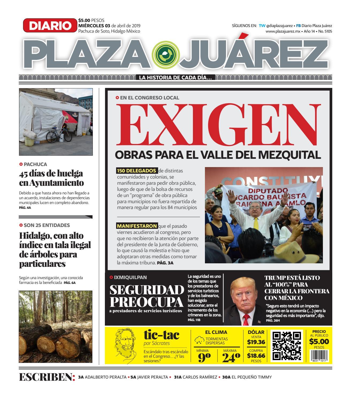 72bf99dd32 03-04-19 by Diario Plaza Juárez - issuu