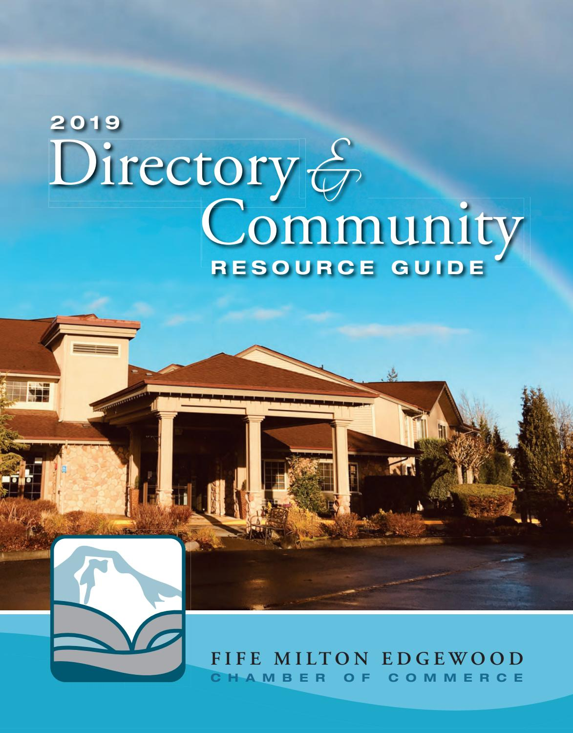 Fife Wa 2019 Community Guide By Town Square Publications