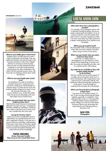 Page 45 of Stone Town Local Know-How