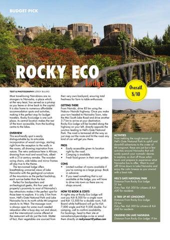 Page 60 of Budget Pick: Rocky Eco Lodge