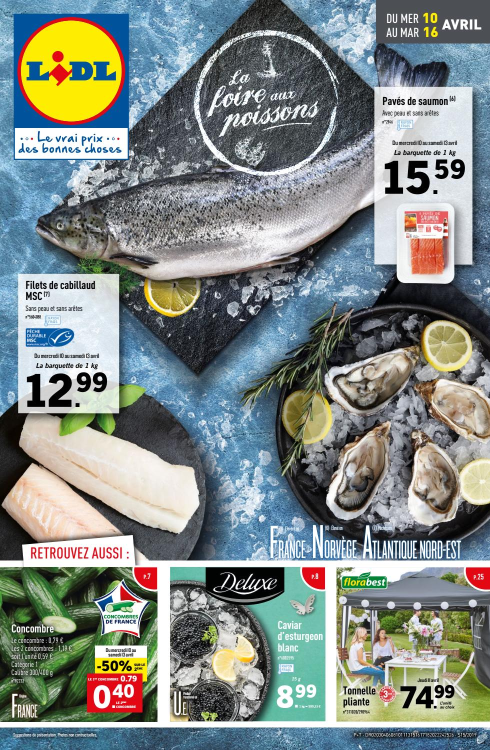 Catalogue Lidl Du 10 Au 16 Avril 2019 By