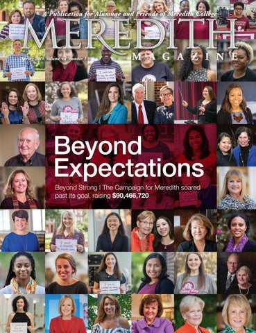 35e764beb9d3 Spring 2019 Meredith College Magazine by Meredith College - issuu