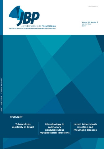b1d030a2aa5 JBP - Volume 45, number 2, March/April 2019 by Jornal Brasileiro ...