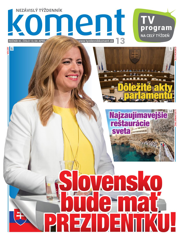 00bd33760 Koment 13/2019 by Týždenník Koment - issuu