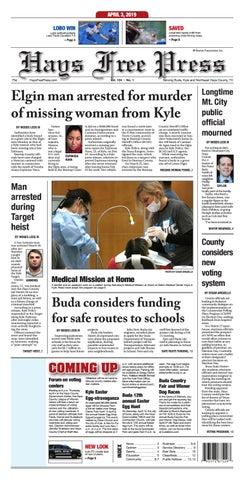 Hays Free Press April 3, 2019 by Hays Free Press/News-Dispatch - issuu