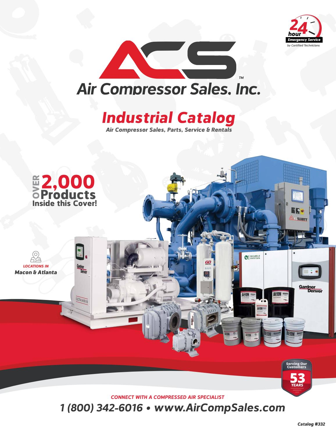 ACS Industrial Catalog - 2019 by Air Compressor Sales, Inc ... on