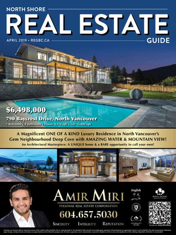 north shore real estate guide april 2019 by british columbia real rh issuu com