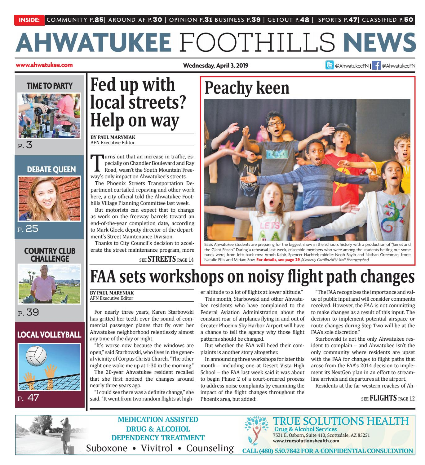 Ahwatukee Foothills News - April 3, 2019 by Times Media