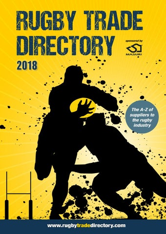 d865c1d8d 2018 Rugby Trade Directory by footballtradedirectory - issuu
