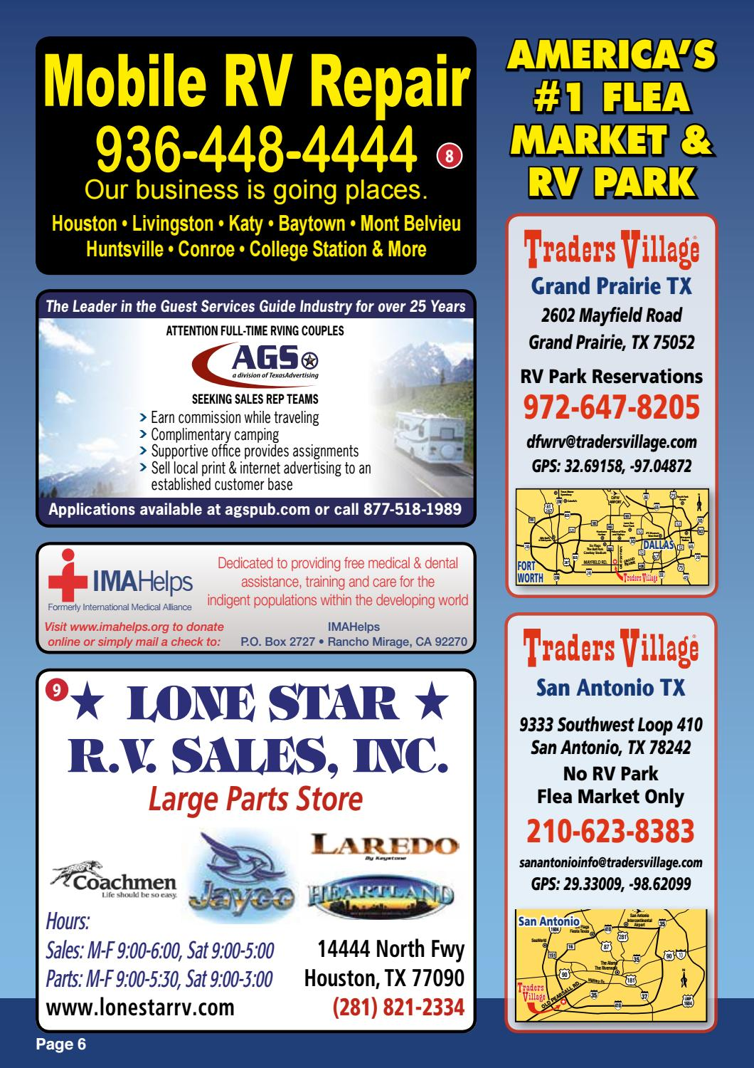 Traders Village Houston RV Park by AGS/Texas Advertising - issuu