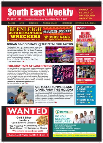 South East Weekly Magazine April 4 2019 By South East Weekly