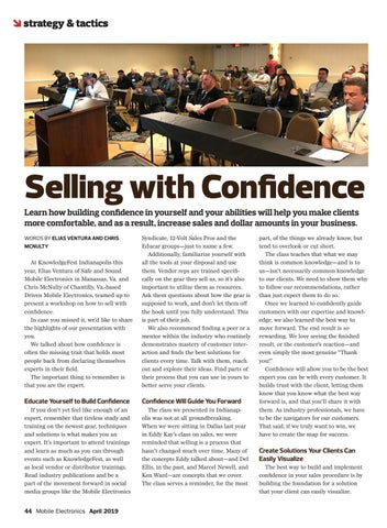Page 44 of Strategy & Tactics: Selling With Confidence