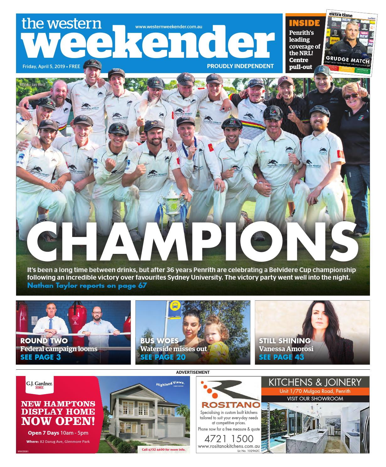 5ab050b46ffb Western Weekender April 5 by Western Sydney Publishing Group - issuu