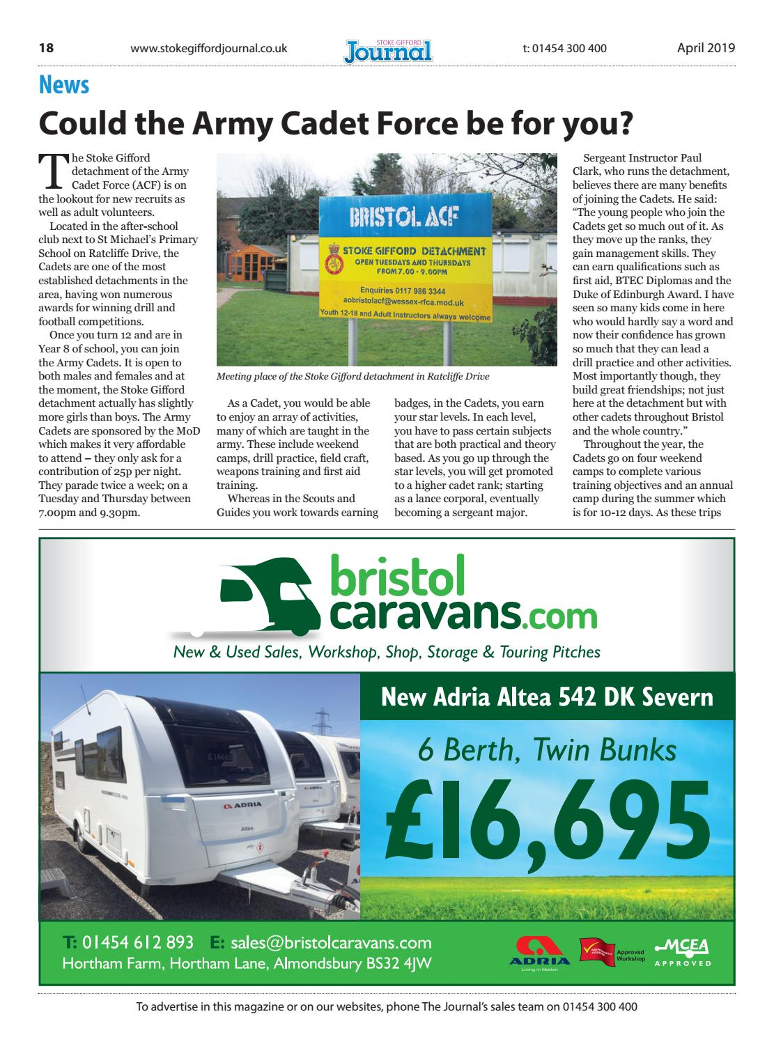 Stoke Gifford Journal, April 2019 by Stoke Gifford Journal - issuu