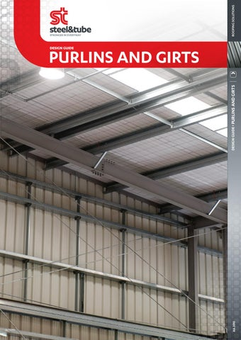 Purlins Amp Girts Design Guide By Steel Amp Tube Issuu