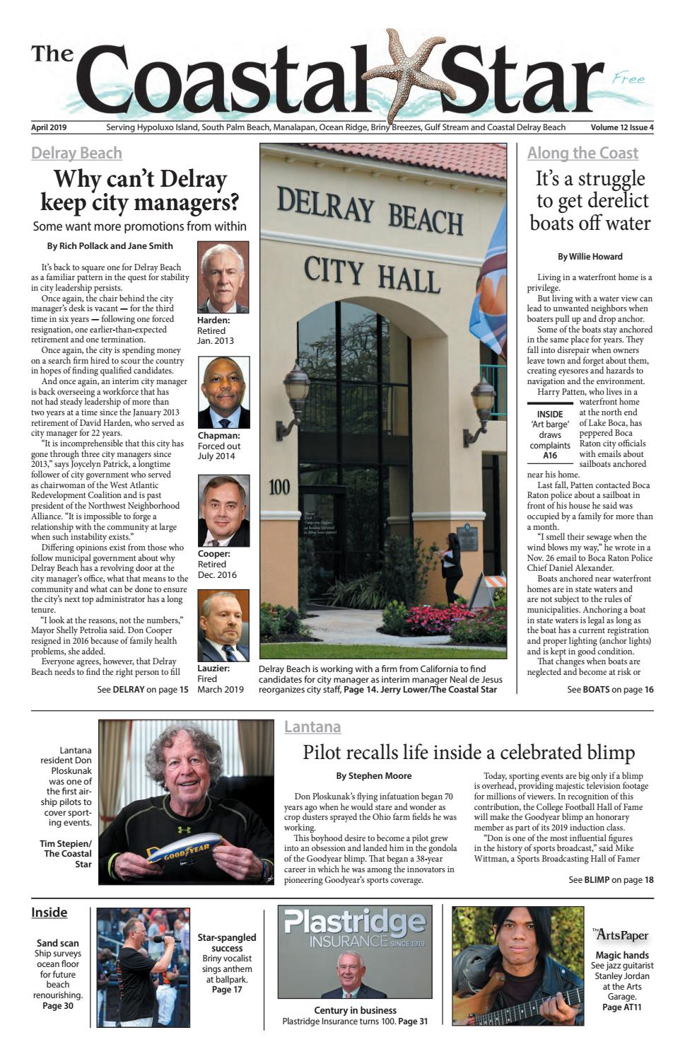 The Coastal Star April 2019 by The Coastal Star - issuu