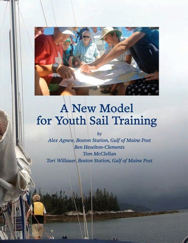 Page 13 of A New Model for Youth Sail Training