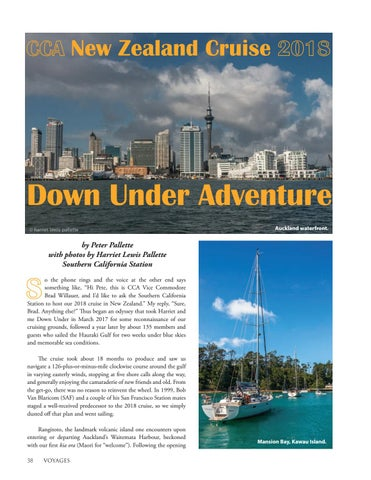 Page 40 of New Zealand Cruise of the CCA