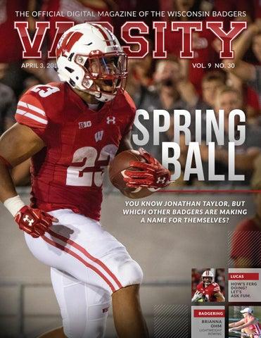 8a460fa2b Varsity Magazine - April 3, 2019 by Wisconsin Badgers - issuu