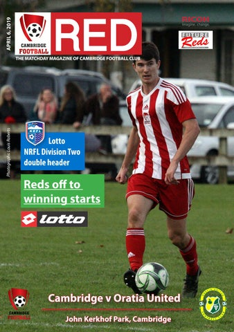 c3f88a0fed7 RED: Matchday Magazine of Cambridge Football Club (April 6, 2019) by ...