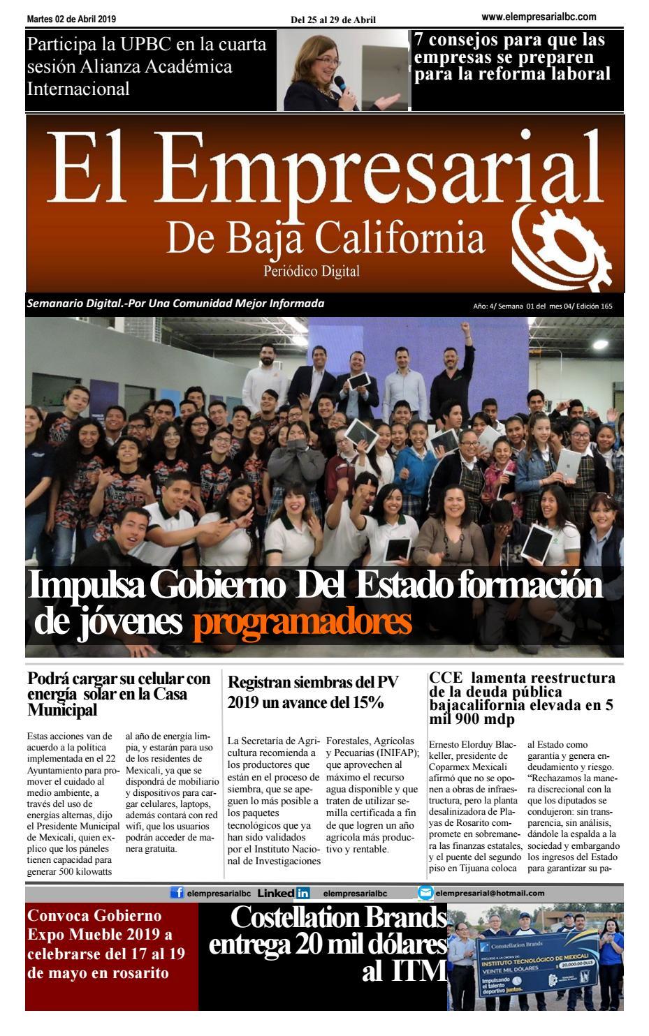Elempresarialbc020419 By El Empresarialbc Issuu