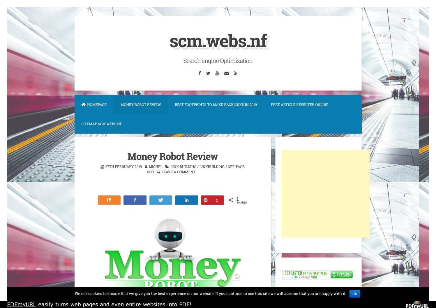 Best Money Robot Review - Worlds most powerful Link building