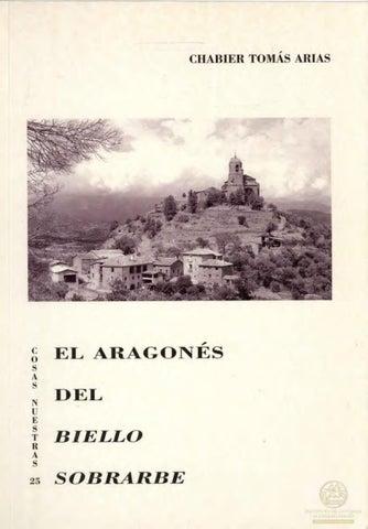 El aragonés del Biello Sobrarbe by Diputación Provincial de