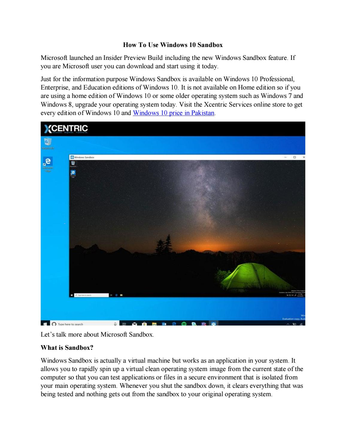 get good Windows 10 price in Pakistan  by xcentricservices - issuu