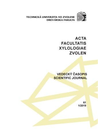 ACTA FACULTATIS XYLOLOGIAE ZVOLEN by www.tuzvo.sk - issuu on