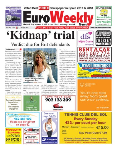 e3d4f868e1b27d Euro Weekly News - Costa del Sol 4 - 10 April 2019 Issue 1761 by ...