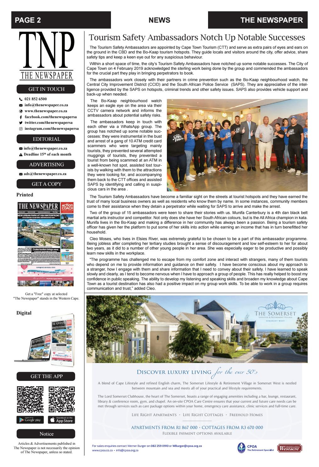 The Newspaper - March Edition 2019 by The Newspaper - issuu