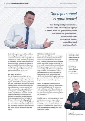 Page 26 of Columns Zoetermeer INTO business lente 2019