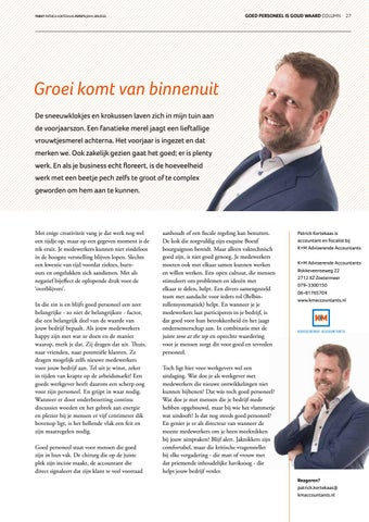 Page 27 of Columns Zoetermeer INTO business lente 2019
