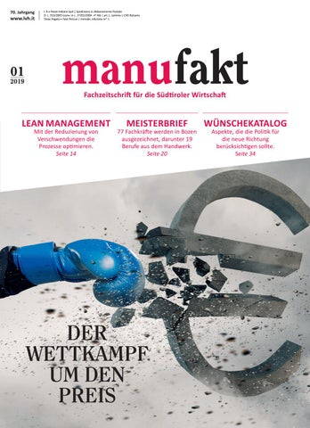 manufakt, Jänner 2019 by Margareth Bernard issuu