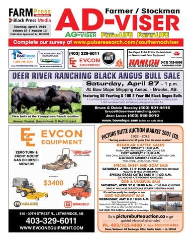 Southern Alberta Advisor, April 04, 2019 by Black Press