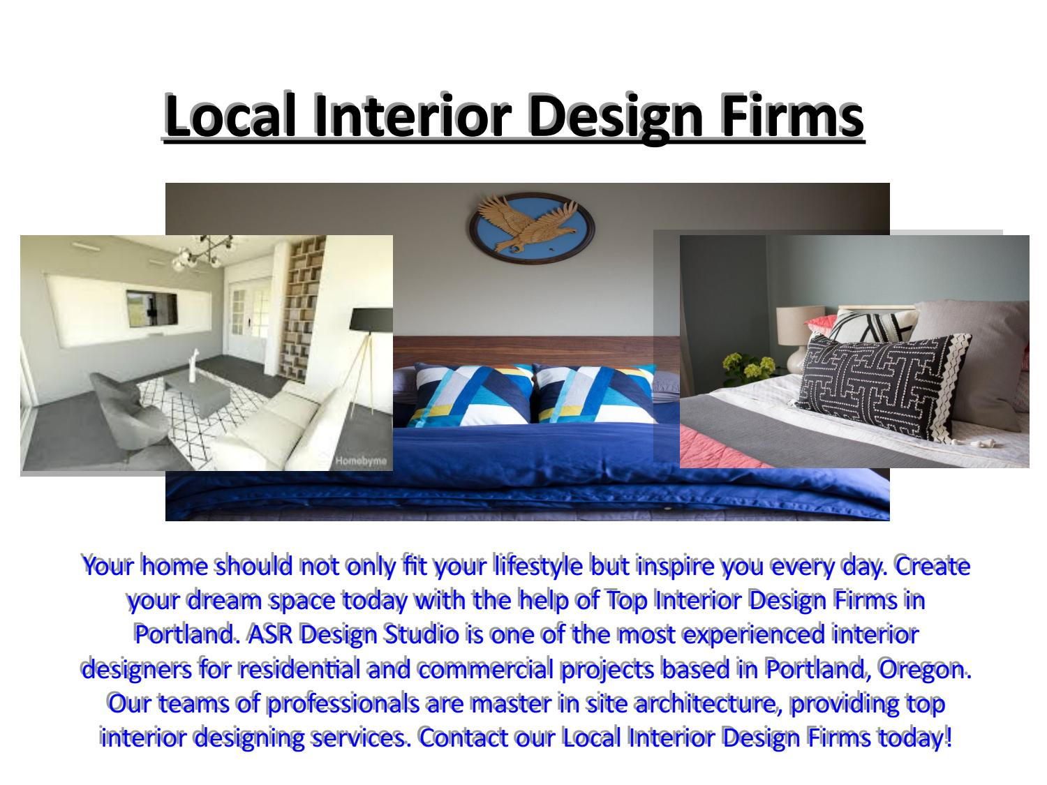 Local interior design firms by asr design studio issuu