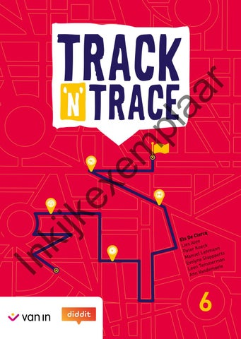 hot sale online 341d4 4e71c Track  n  Trace 6 - Inkijkexemplaar by VAN IN - issuu