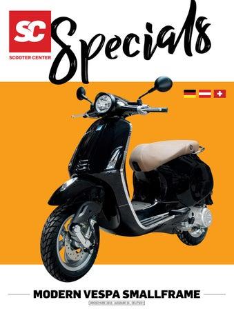 Spiegel Schwarz Grau rechts für Vespa ET2 ET4 Roller Motorroller