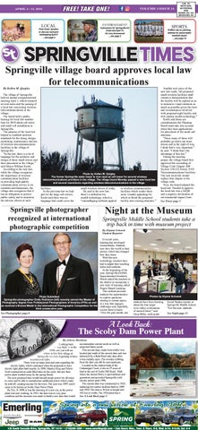 04/05/19 Springville Times by Ellicottville Times - issuu
