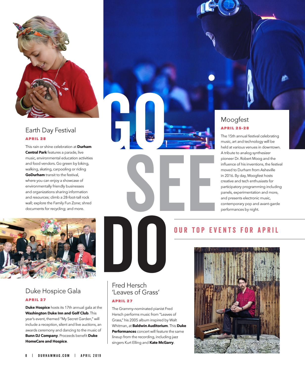 Durham Magazine April 2019