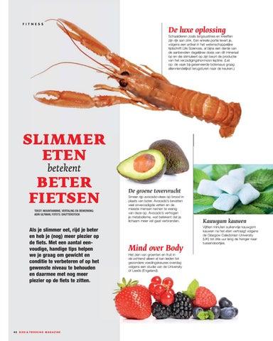 Page 42 of Beter fietsen door Slimmer Eten