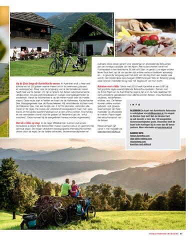 Page 45 of FIetsen in Karinthie. Genieten van de zonnige zuidzuide van de Alpen